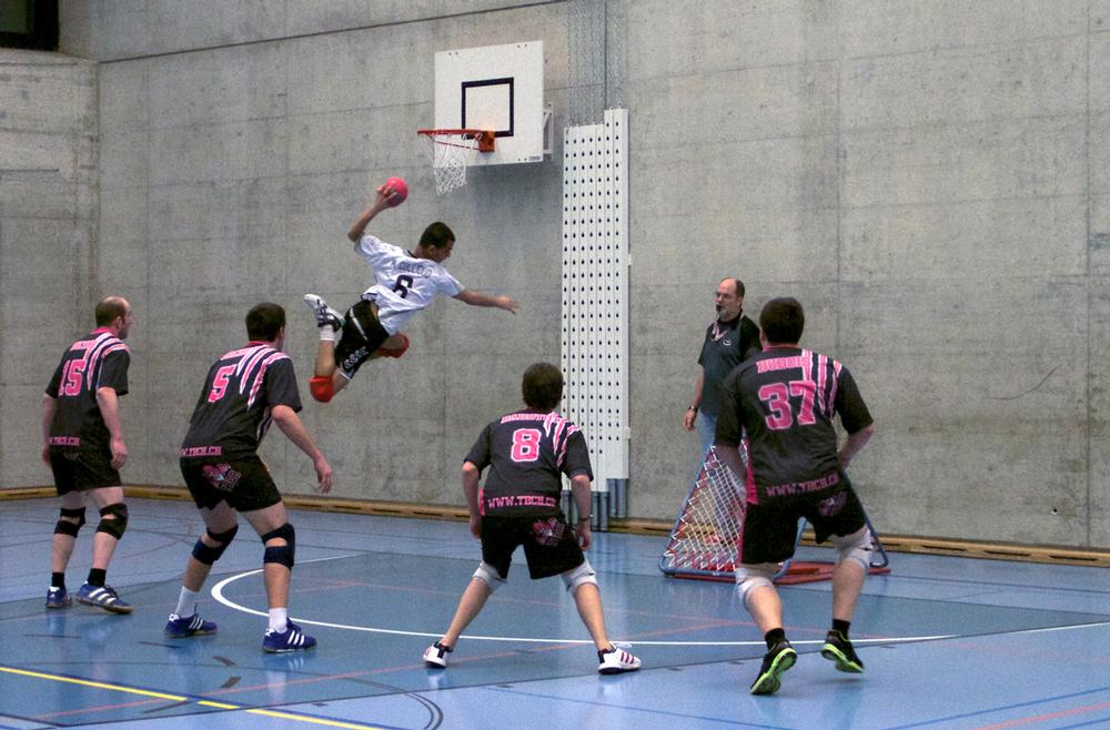 While Tchoukball was designed to minimise injuries, it still requires athleticism - especially at the highest level