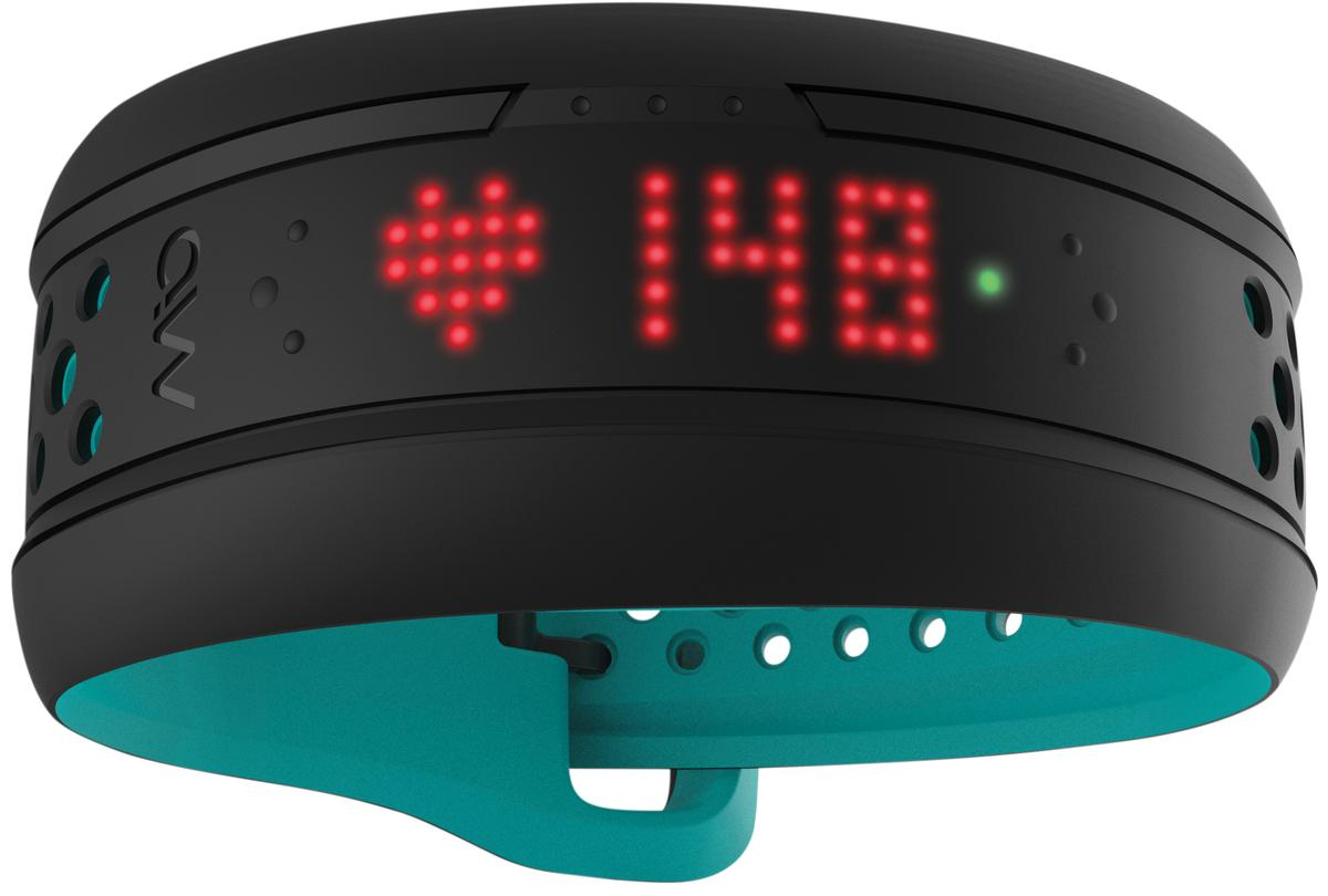 The Mio Fuse wristband provides a daily assessment of heart rate, step count, distance travelled, speed, pace and calorie burn