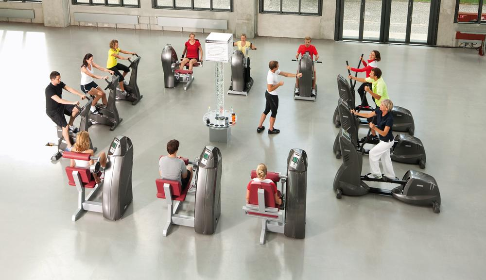 Circuit classes – such as milon (above) and freestyle – are popular in Germany
