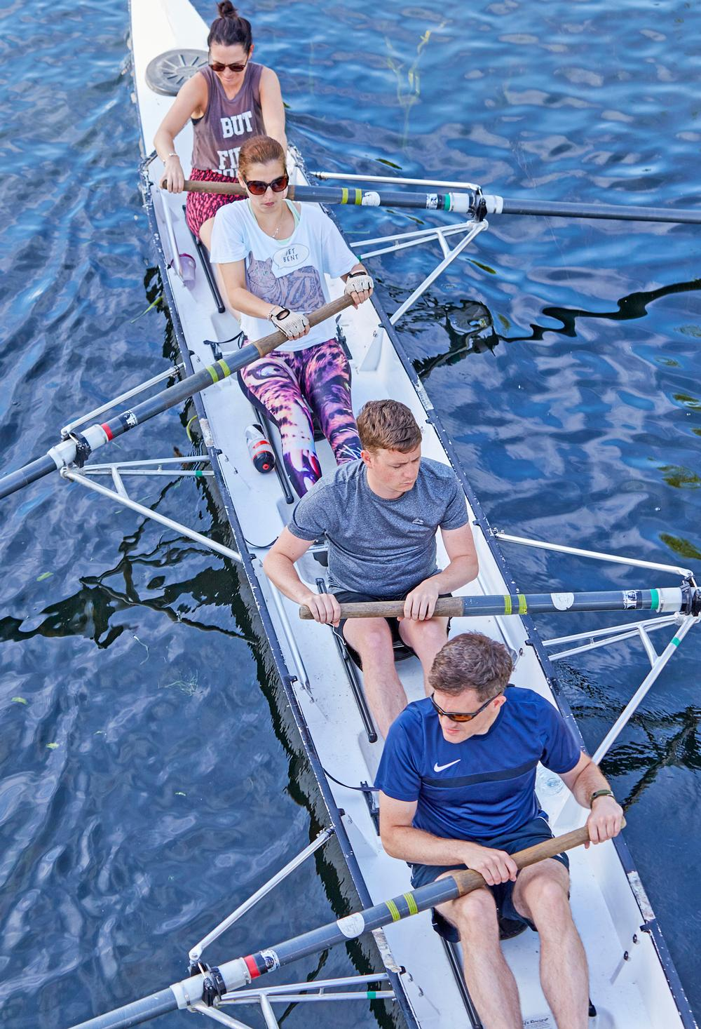 British Rowing has part-funded packages of stable beginner boats, along with structured learn-to-row courses