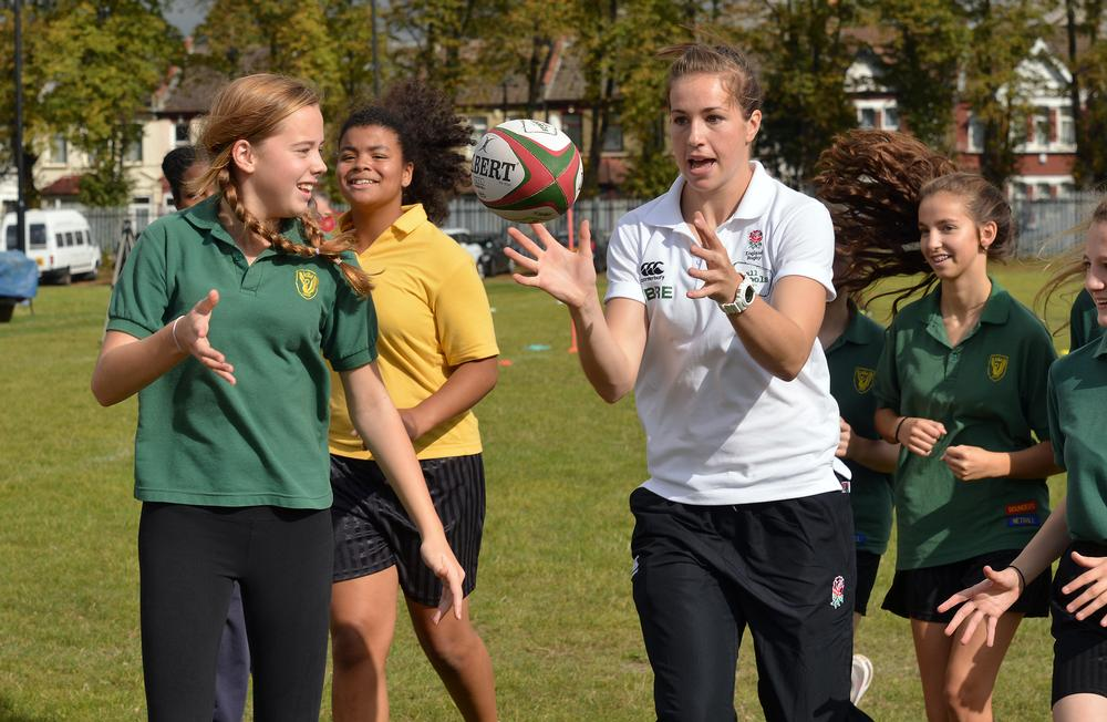 Grainger aims to double the number of female rugby players