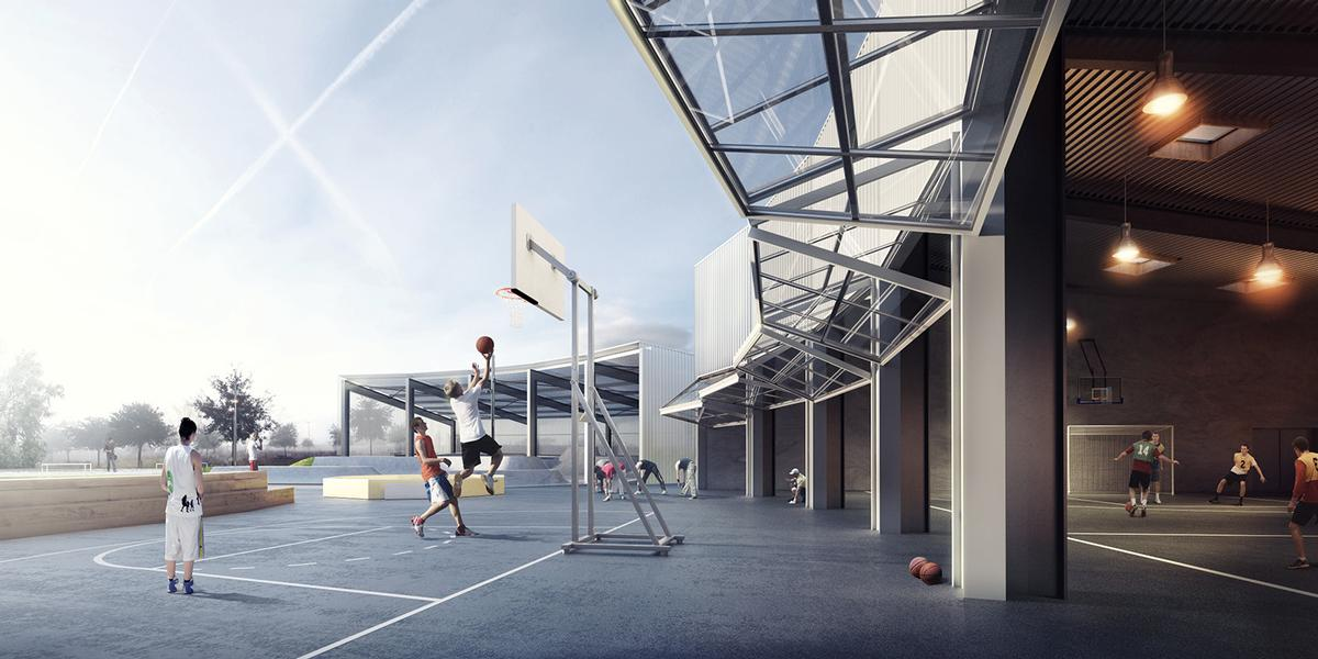The studio designed the facility to accommodate a wide range of popular street sports / EFFEKT