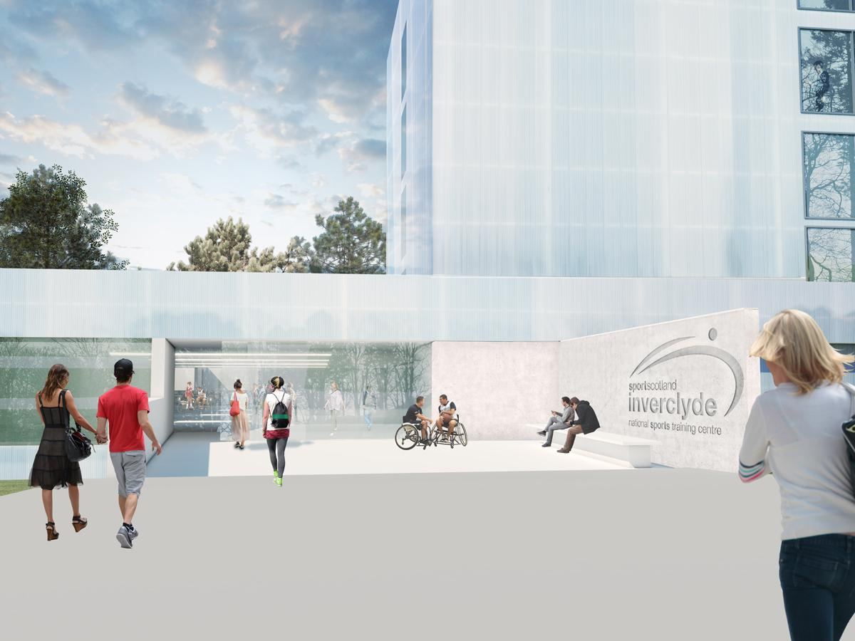 The Reiach and Hall-designed facility is expected to open in March 2017 / sportscotland