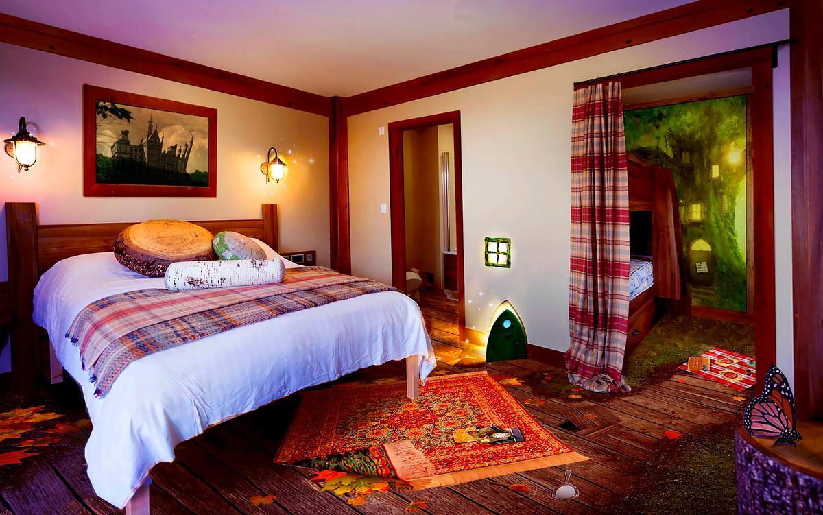 The Enchanted Village Accommodation Has Been Designed By