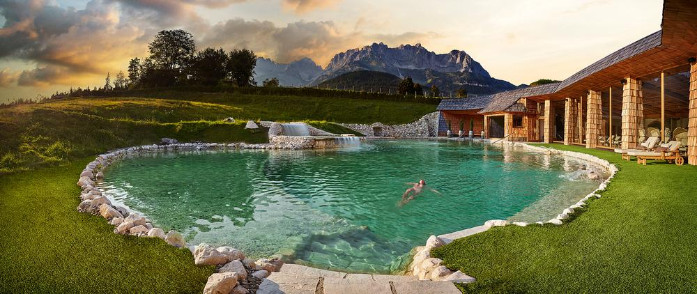 Bio-hotel Stanglwirt, a possible summit venue, epitomises Austrian wellness