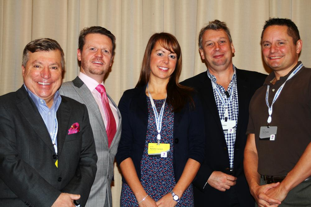 The panel debate was chaired by ukactive's David Stalker (second from right)