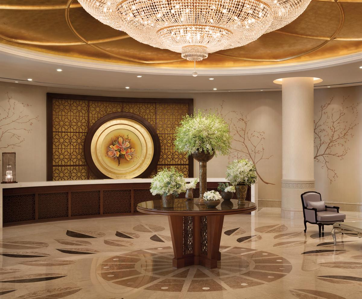 The Shangri-La Hotel, Doha is designed by H.O.K. Architects
