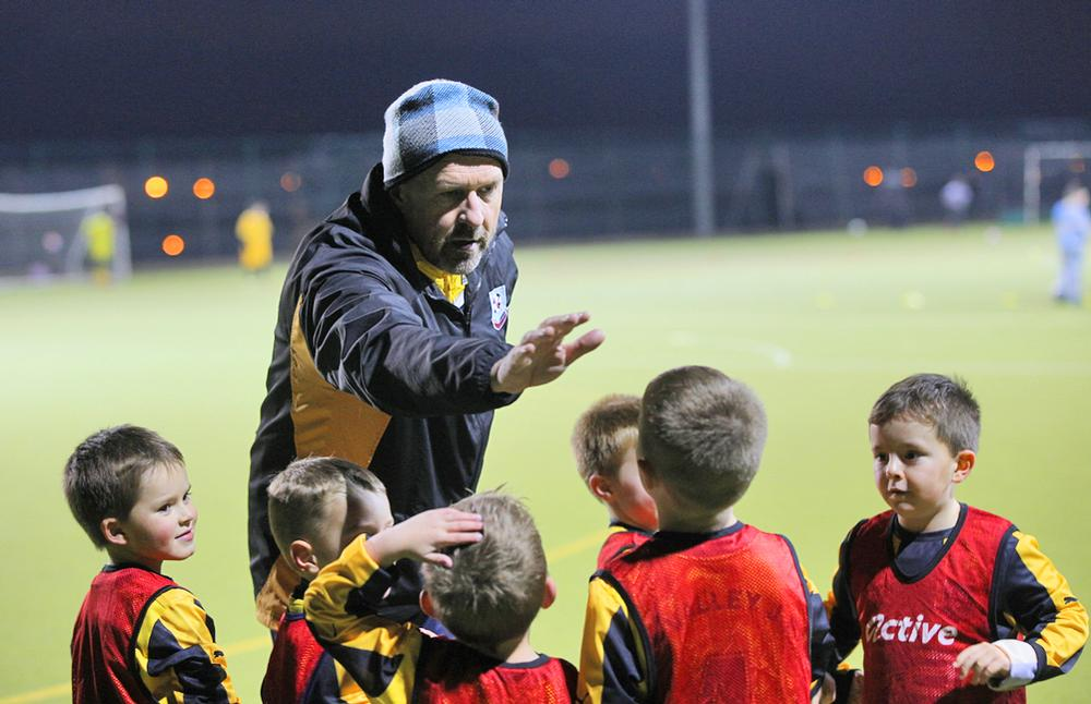 Volunteers such as coaches are seen as key to delivering the ambitious targets