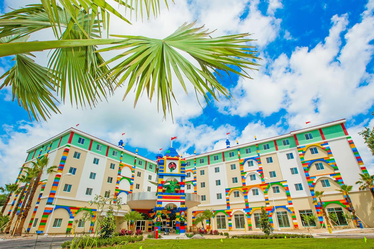 New investments like the hotel at Legoland Florida have helped boost revenues