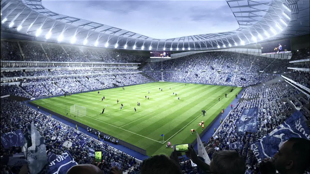 84a5533cae3a6 Boris Johnson said the new stadium will  provide world-class facilities to  watch Premier League football