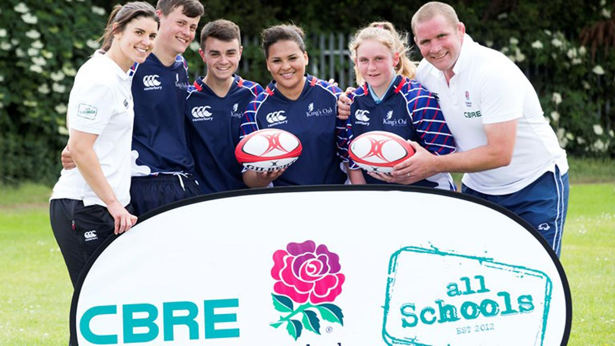In 2014/15, the All Schools programme contributed to 130,000 new students taking part in rugby / RFU