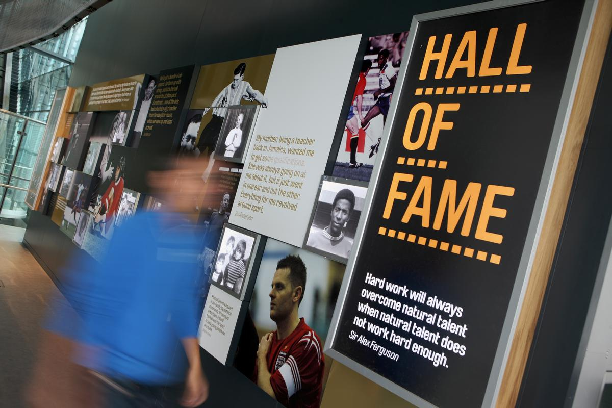 The National Museum of Football in Manchester received £3.8m in funding from the European Regional Development Fund