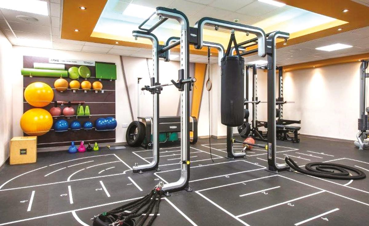 The Bradley Stoke redevelopment includes the addition of a dedicated functional fitness area