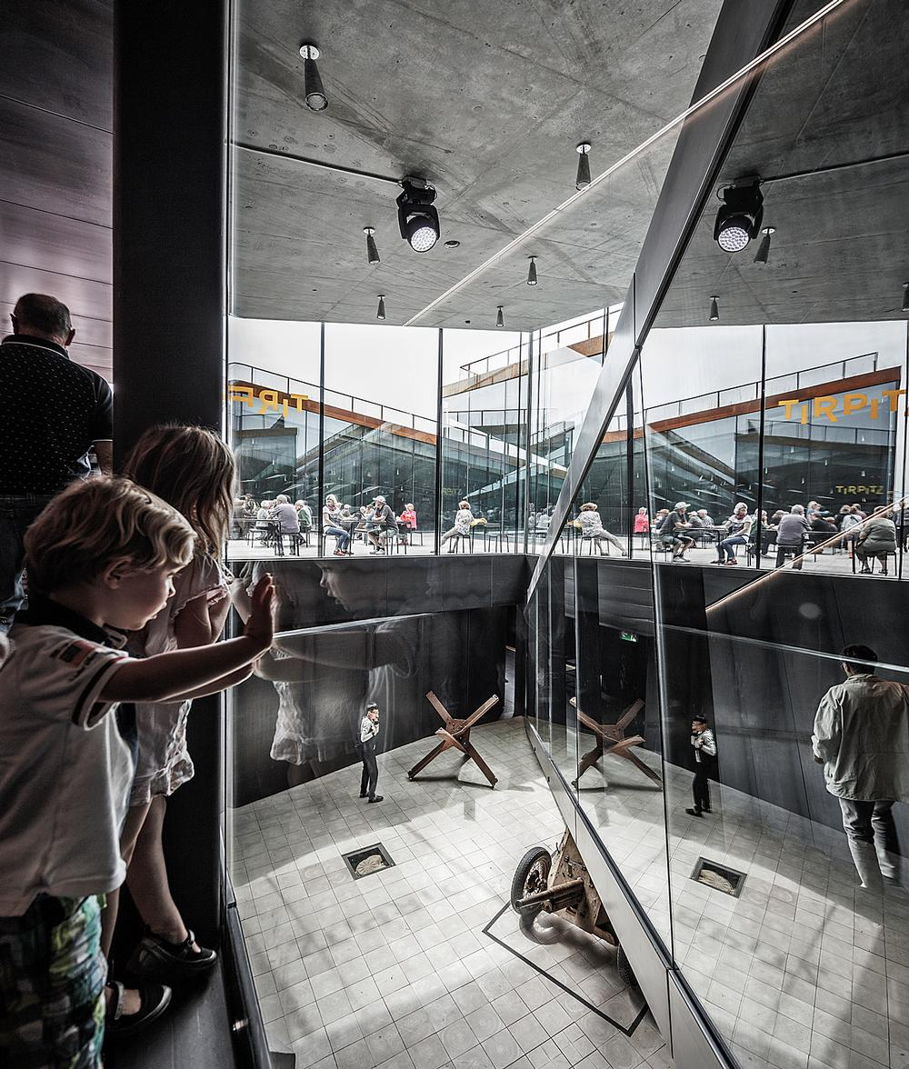 TIRPITZ Museum opened in Blåvand, Denmark, in 2017 / PHOTO: RAMUS HJORTSHOJ