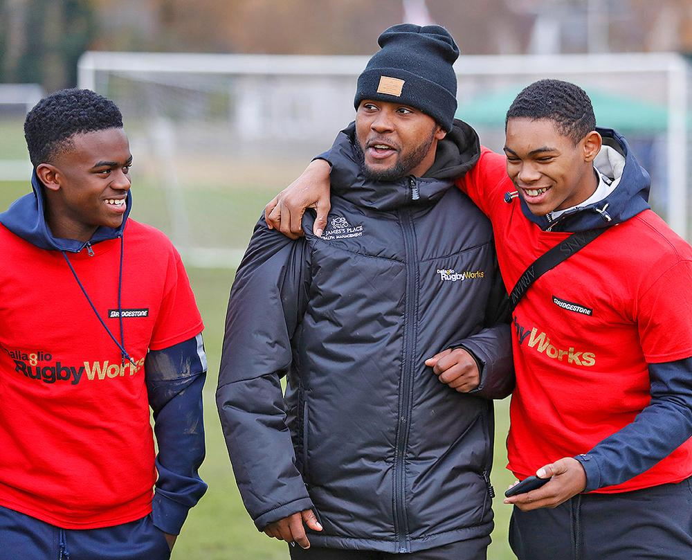 The coach-participant relationship is an important part of the RugbyWorks offer