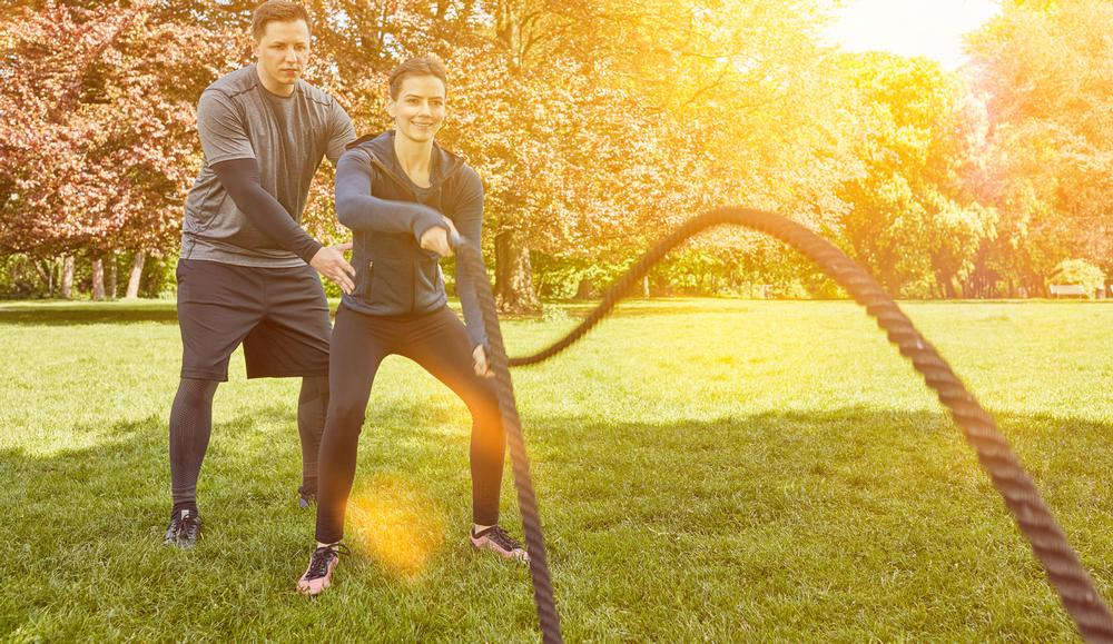 Health and fitness providers could offer more classes and activities outdoors / PHOTO: SHUTTERSTOCK.COM