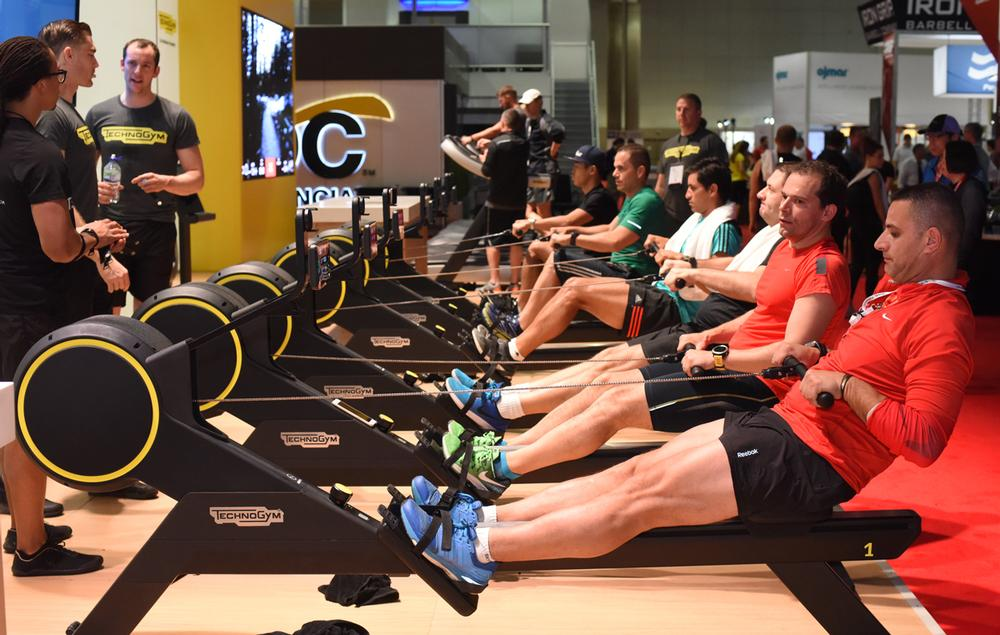 A two-day trade show formed a key part of the offering at IHRSA 2017 / PHOTOS: IHRSA/THE PHOTO GROUP