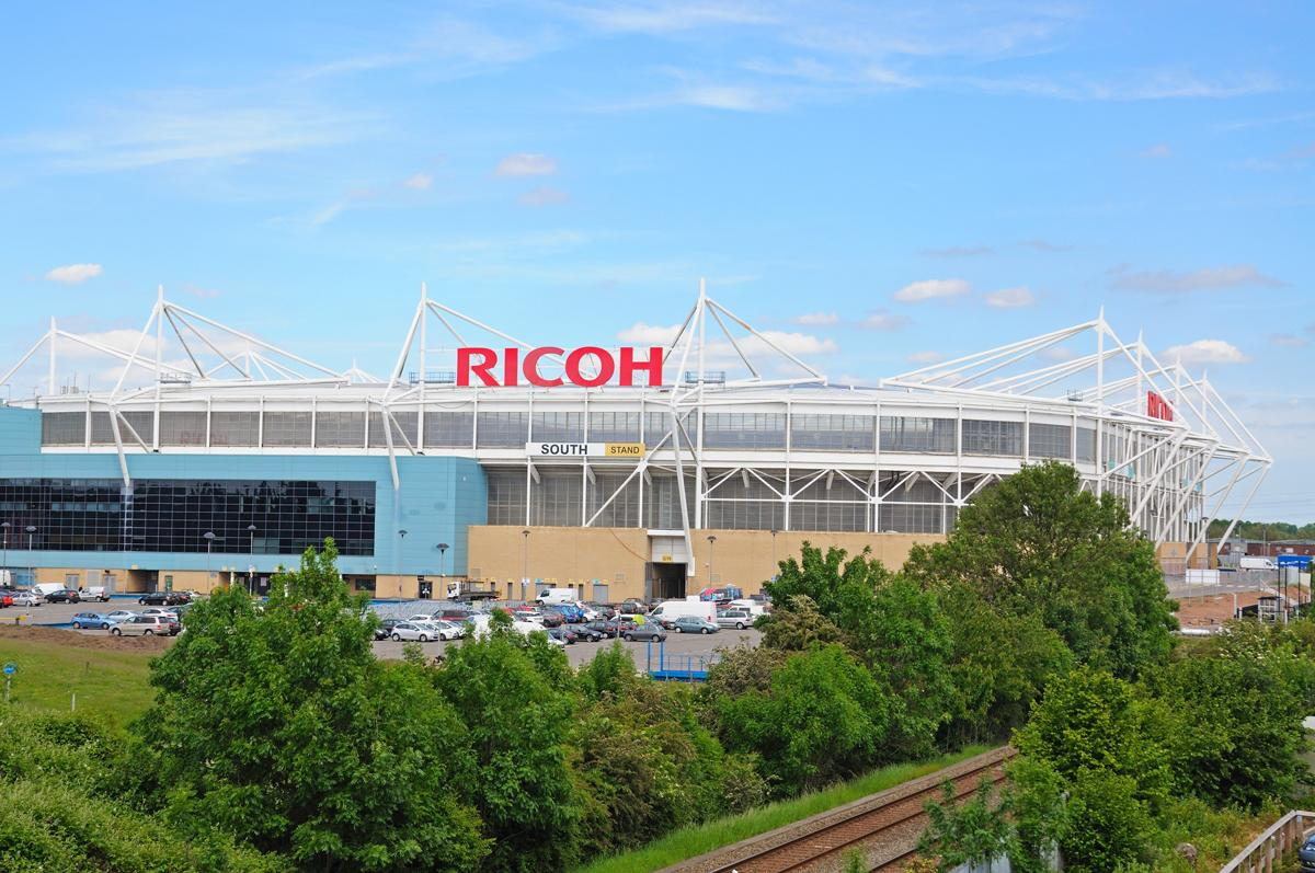 Coventry City returned to the Ricoh Arena in August 2014 after a season playing at Sixfields / Arena Photo UK