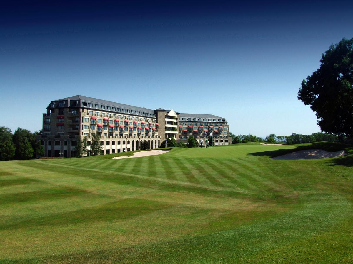 The Ryder Cup venue is adding greater capacity and a new restaurant helmed by Richard Davies