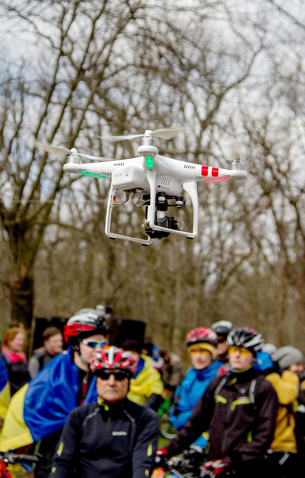 Drones now have a much wider application across all types of sports