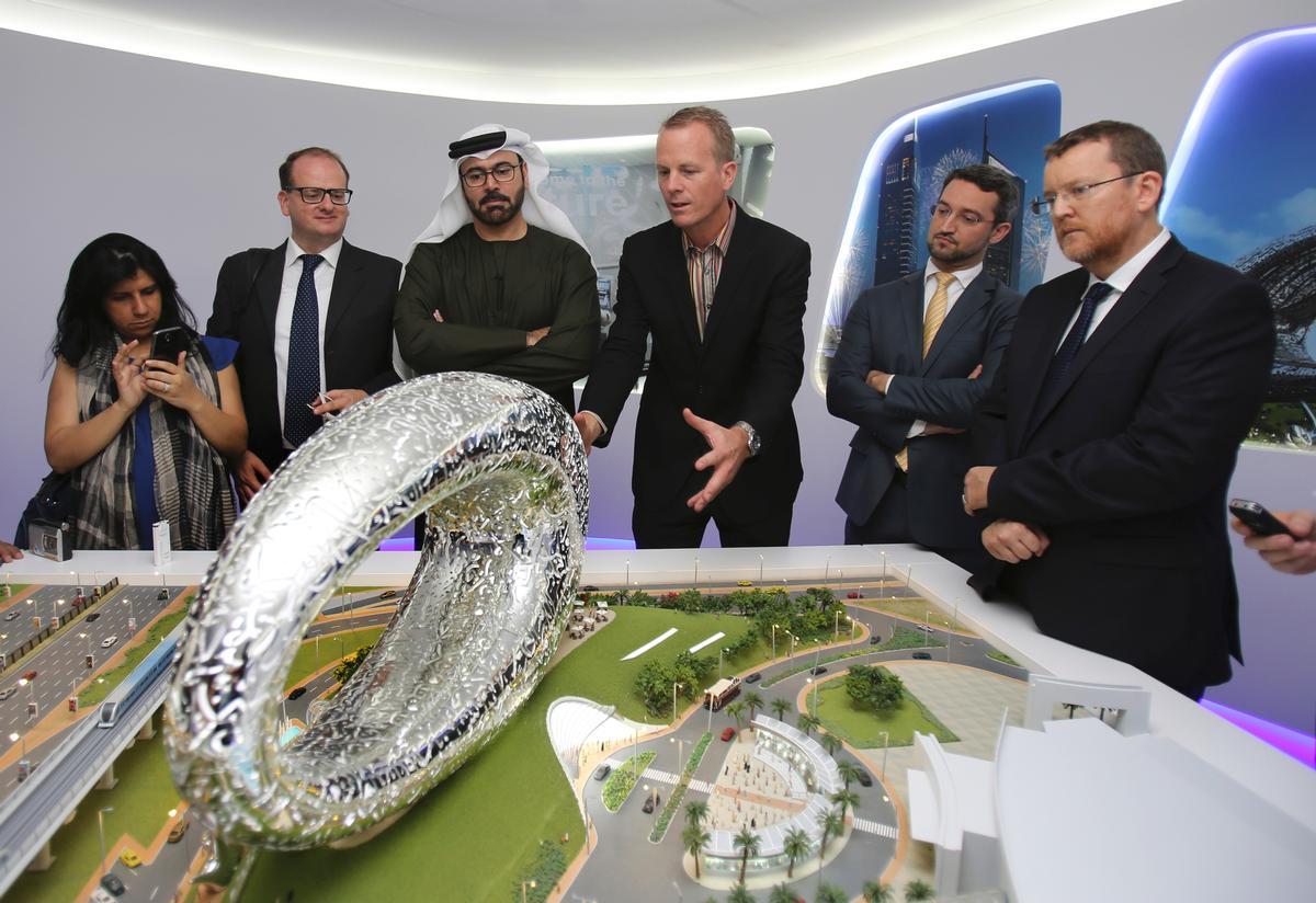 Architect Shaun Killa of Dubai-based practice Killa Design, has imagined the ring-shaped Museum of the Future