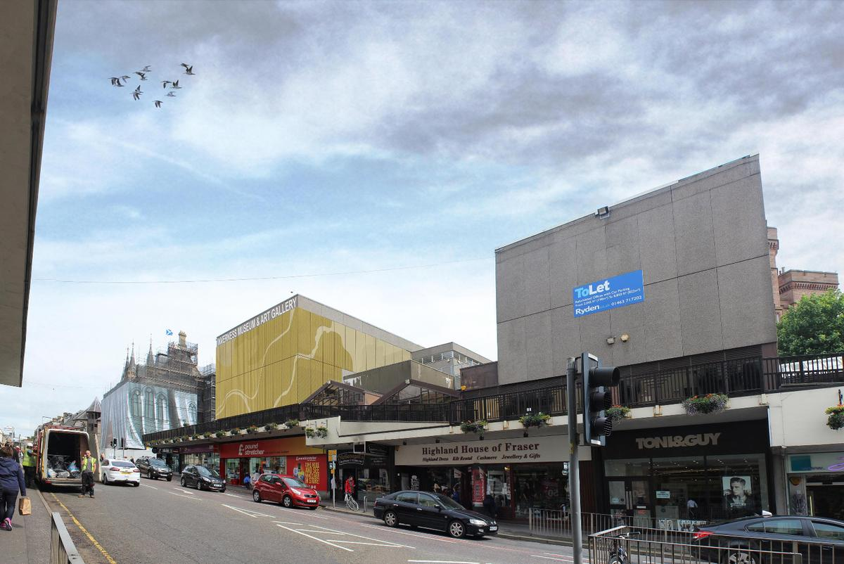 The new design aims to make the building more appealing to passers-by