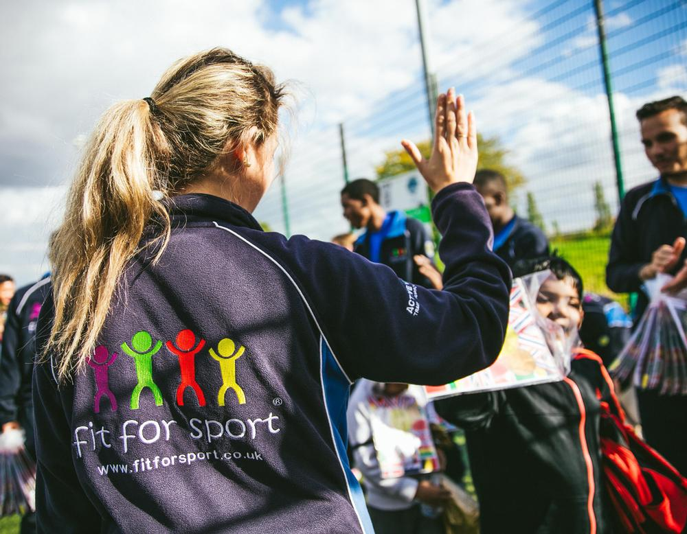 Fit For Sport coaches provide school staff with training