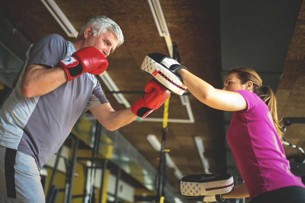 Over 50s hold 70 per cent of the nation's wealth, making this market a lucrative one for the fitness industry to tap into / SHUTTERSTOCK.COM