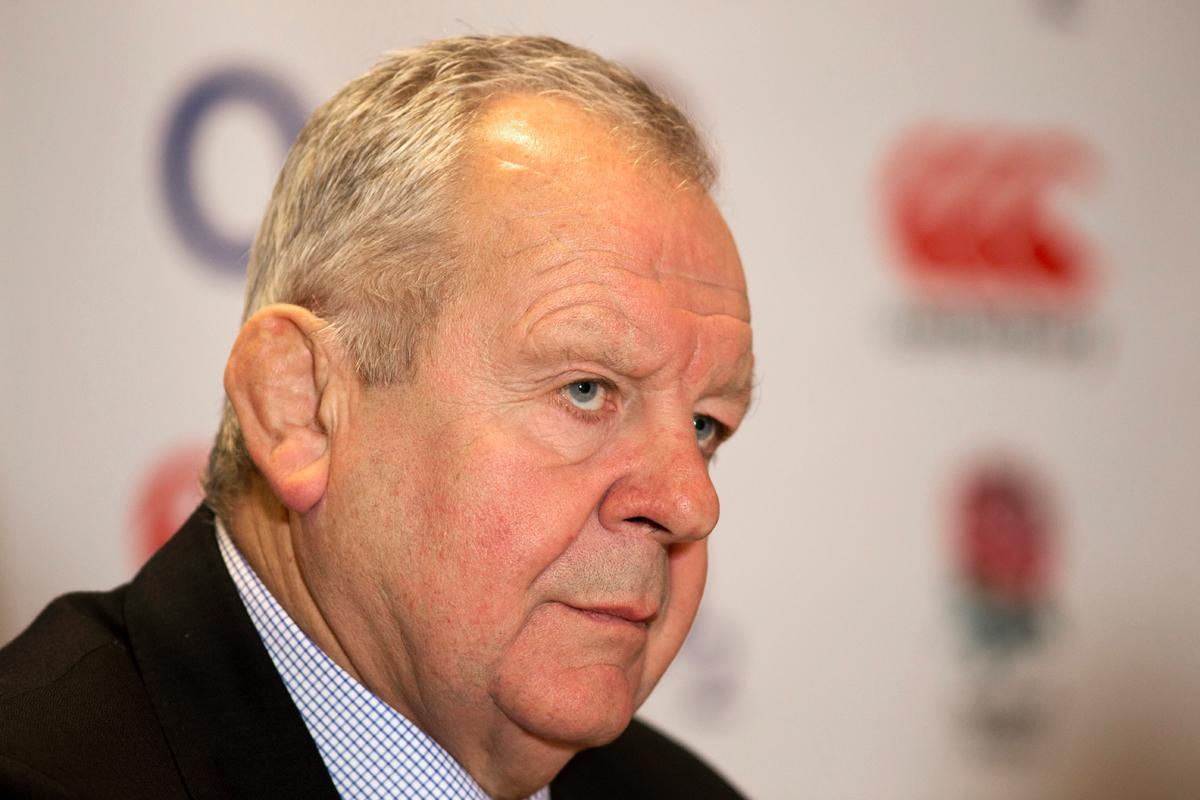 Bill Beaumont has been chair of the Rugby Football Union since 2012