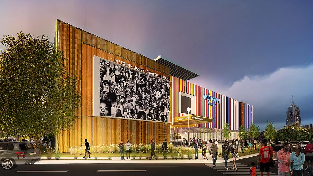 Perkins+Will are working on a major expansion of Detroit's Motown Museum / Image: Perkins+Will