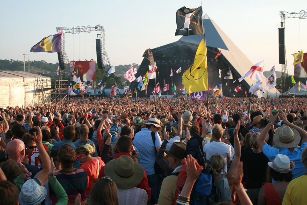 Festivals such as Glastonbury have proved a huge draw for music tourists / Flickr.com / Neal Whitehouse Piper