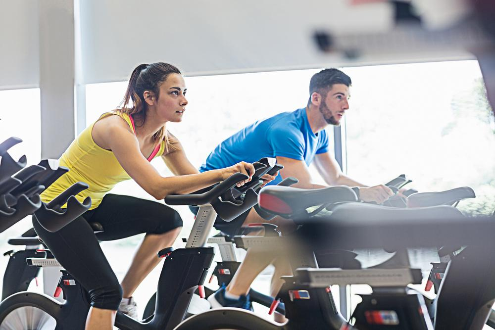 The value of the European fitness market now  exceeds that of the US / shutterstock