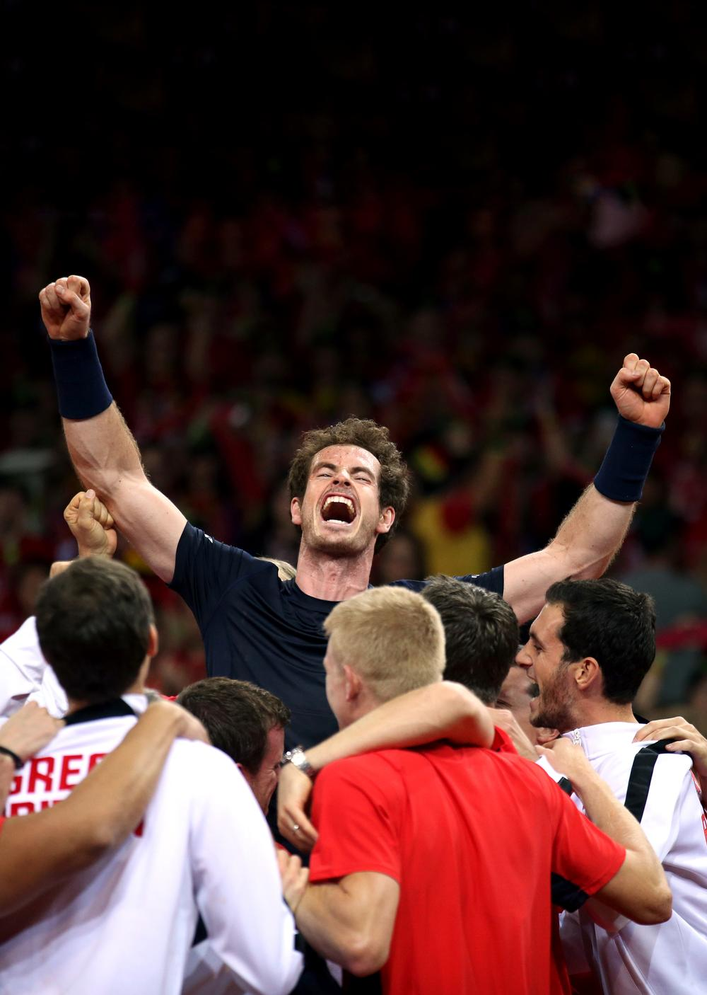 Andy Murray used the British Davis Cup win as a platform to criticise the Lawn Tennis Association, claiming it's failing to build on his success in developing the next generation of elite players / Press Association