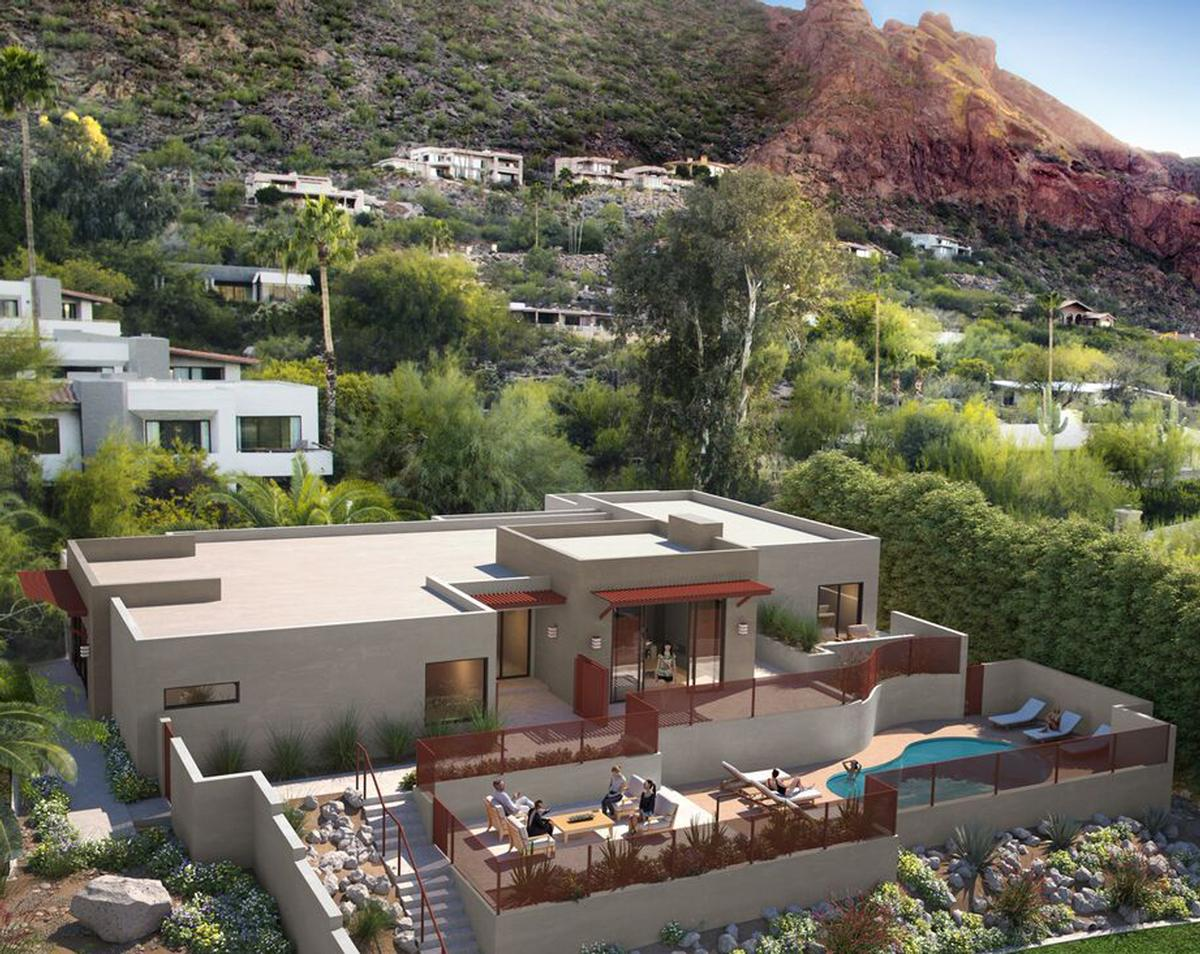 Coupled with four new neighbouring casitas, the entire enclave will accommodate groups of up to 16, and can be used for retreats, special occasion getaways or executive corporate gatherings
