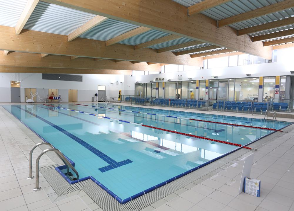 an 8m euro swimming pool and leisure centre has opened