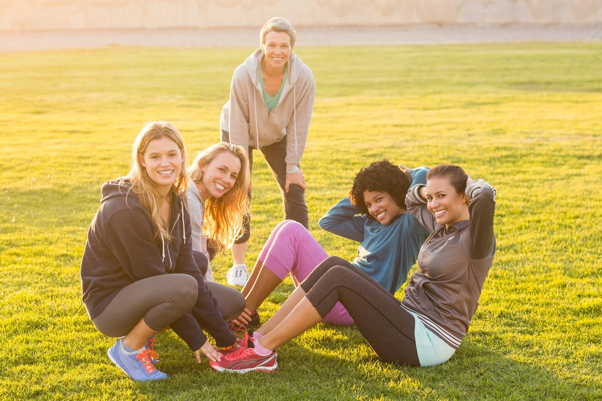 Fitness classes, running clubs and team sports have been put forward as suggestions for boosting workplace wellness / Shutterstock.com / wavebreakmedia