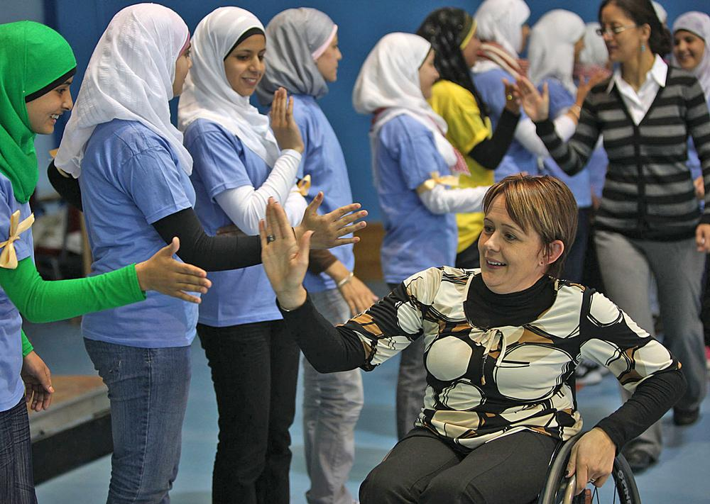 Unicef UK's ambassadors play a key role in spreading its message, Tanni Grey-Thompson
