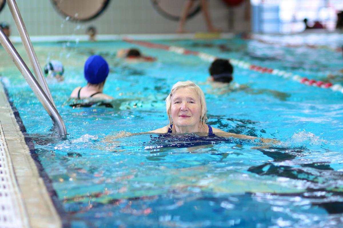 One of the projects to benefit is Swim Together, which targets women aged over 45