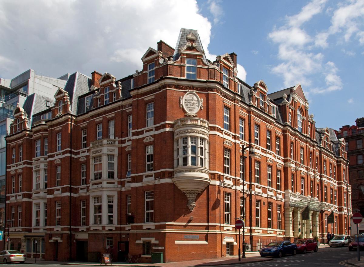 Among the portfolio is the eye-catching Hotel du Vin Birmingham / Flickr.com / Tony Hisgett