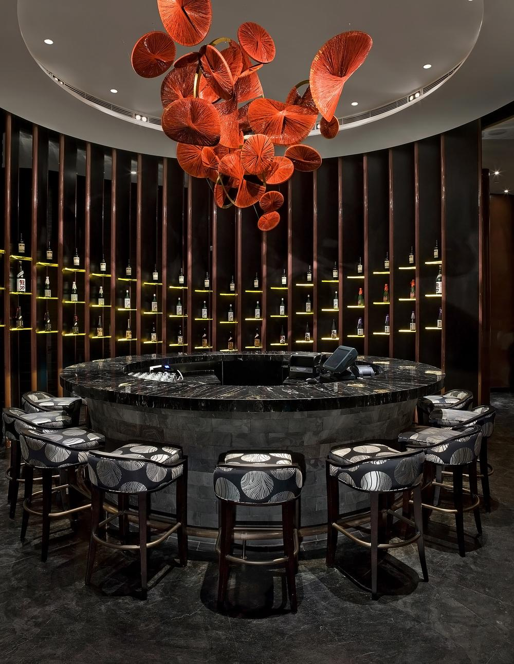 The W Guangzhou in China was inspired by classical Japanese dance-theatre