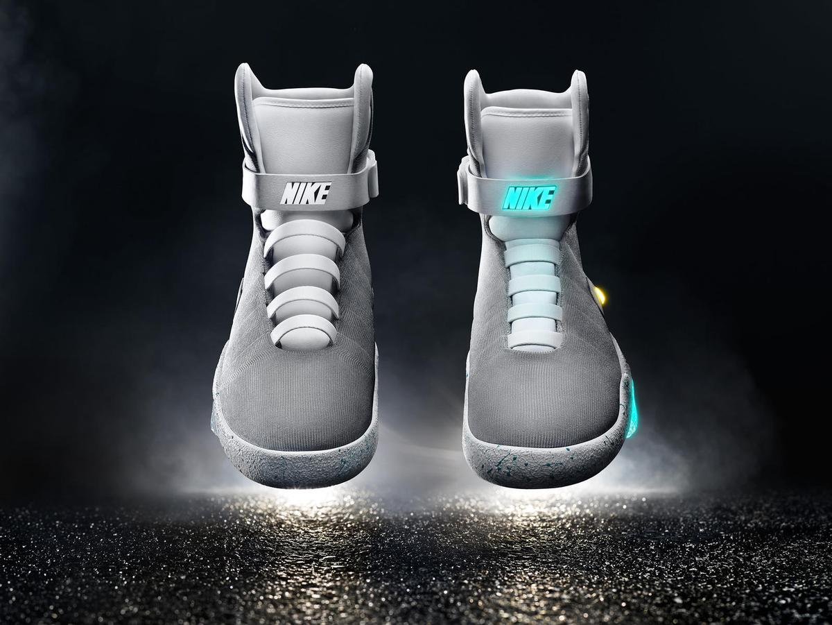 The trainers, dubbed 'Nike Mag', could herald a significant leap forward  for optimising comfort and performance Credit: Nike