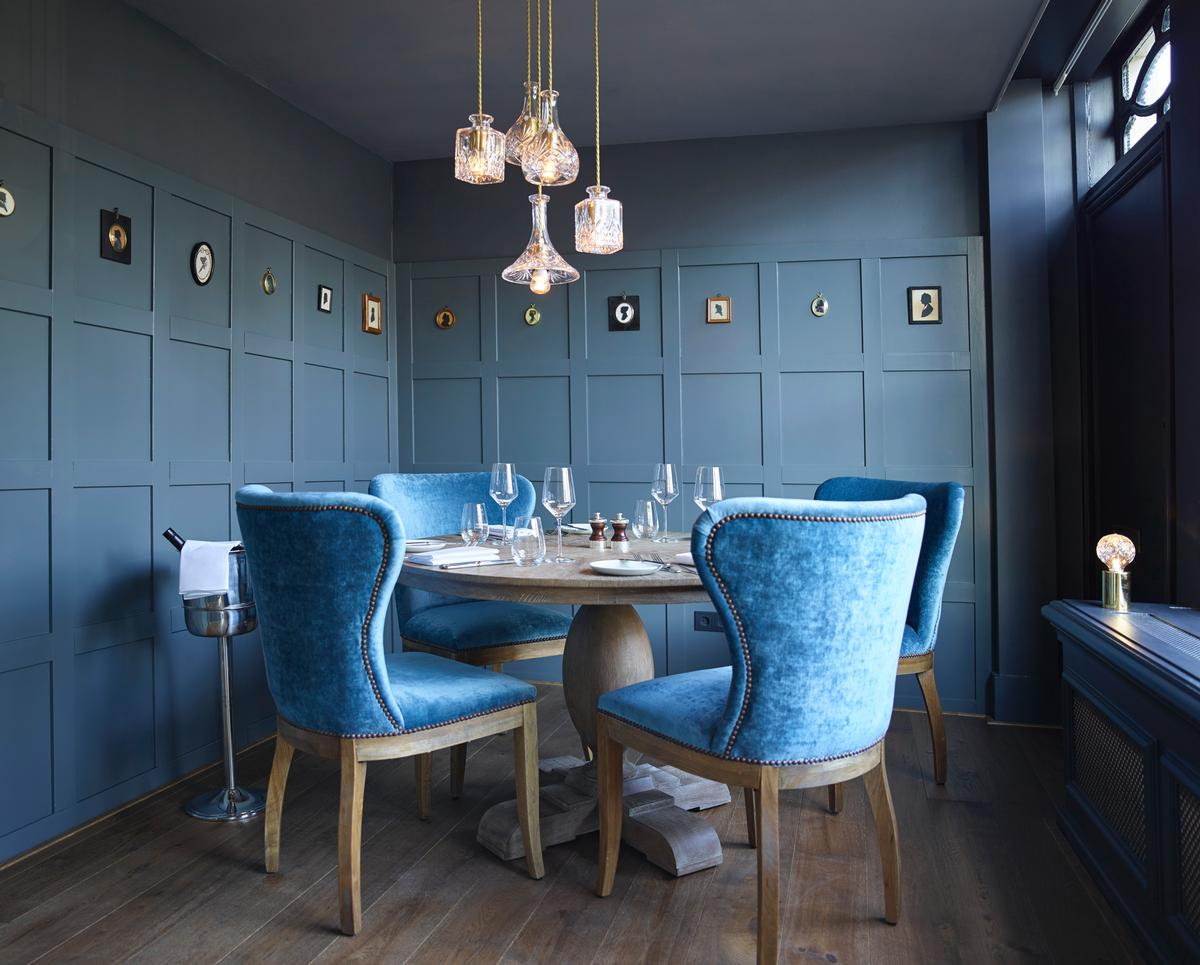 The hotel now has an elegant new restaurant called Jansz / Pulitzer Amsterdam