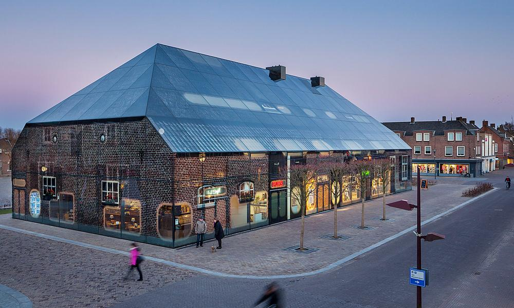 The Glass Farm, Schijndel features a printed glass façade