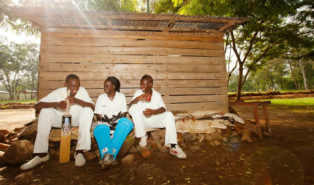 Women's cricket is big in Rwanda. Of the 15,000- 20,000 regular players in the country, 5,000 are women