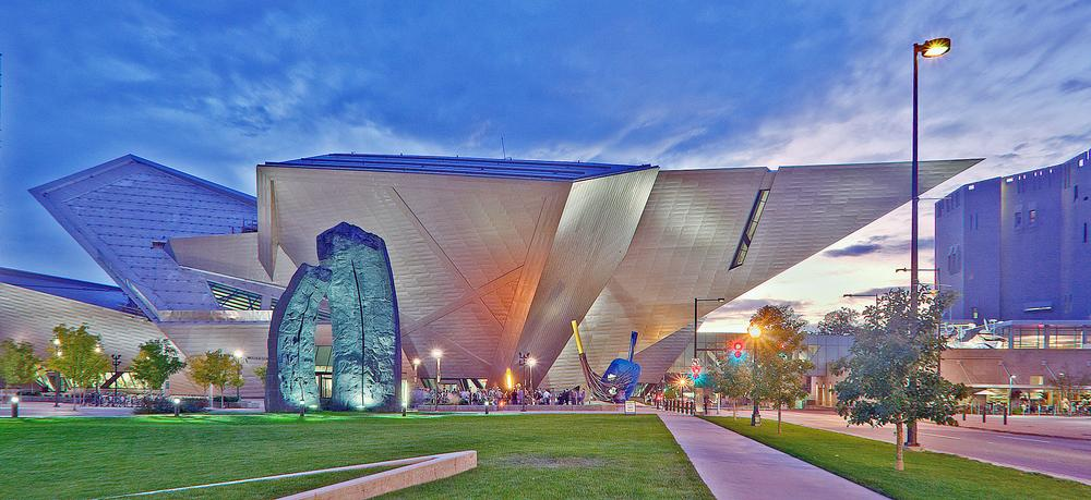 Denver Art Museum's Frederic C Hamilton Building, designed by Daniel Libeskind, has become an architectural icon for the Colorado region / PHOTO: DENVER ART MUSEUM / JEFF WELLS