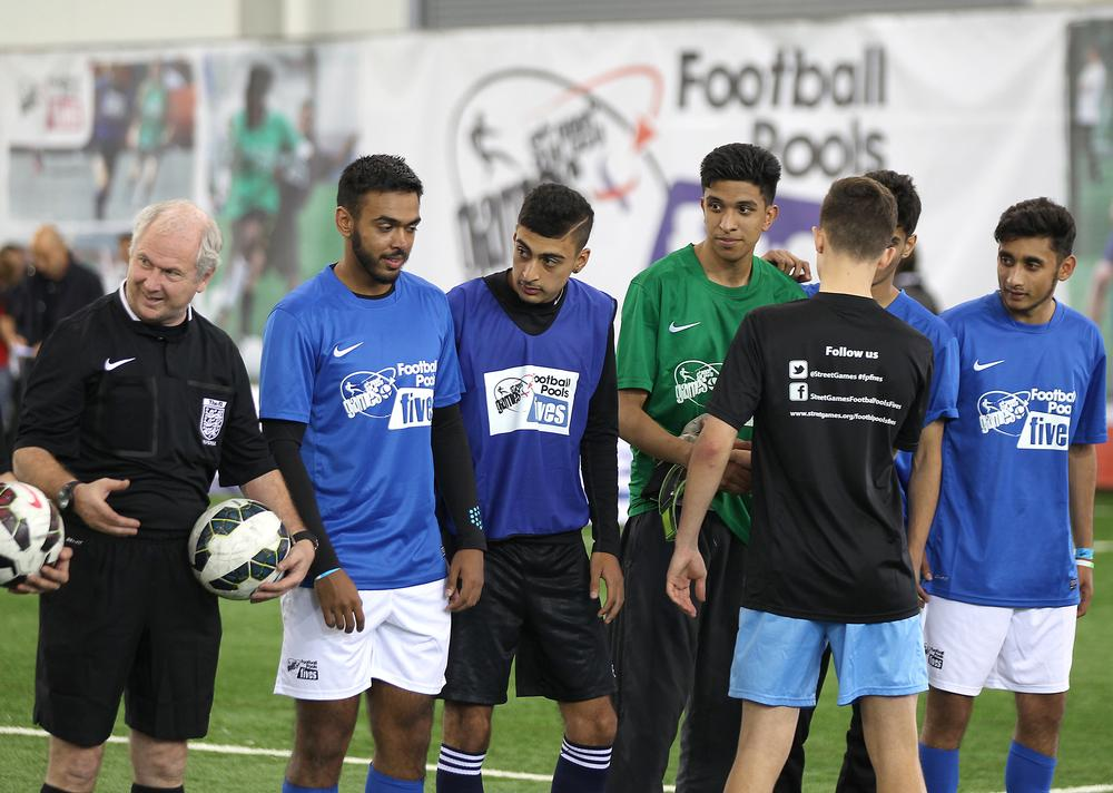 StreetGames programmes receive Sport England funding / Barrington Coombs / press association