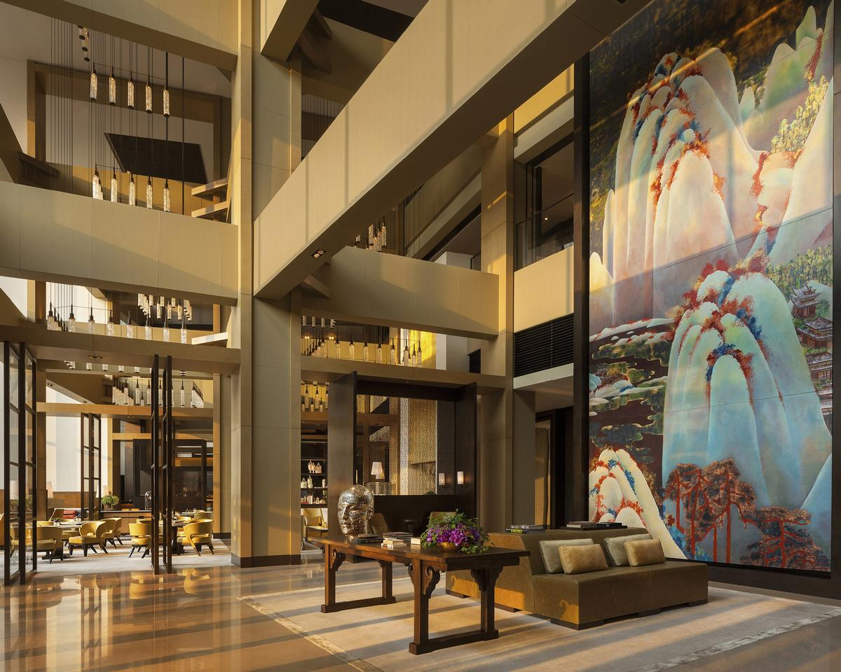 Rosewoods New Hotel In Beijing Won Many Categories Including Best Lobby Lounge