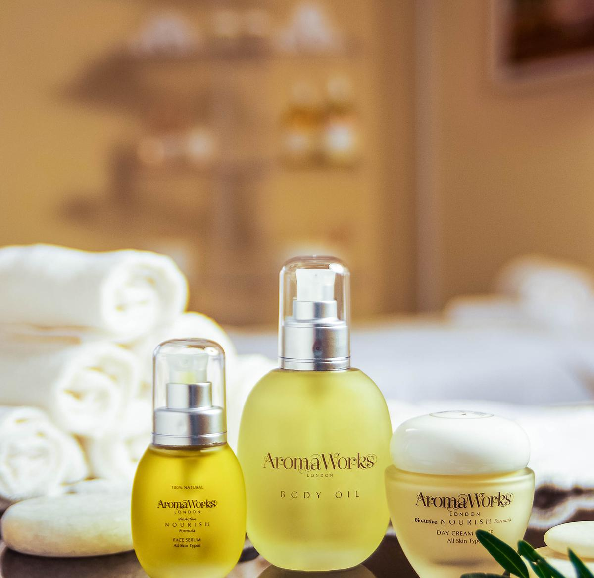 The full range of AromaWorks treatments will be available within the spa, as well as waxing and nail treatments