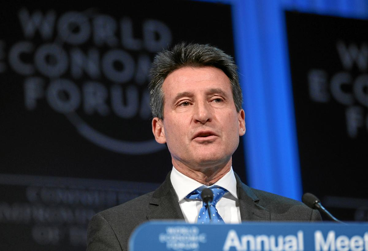 IAAF president Sebastian Coe will address delegates at the conference