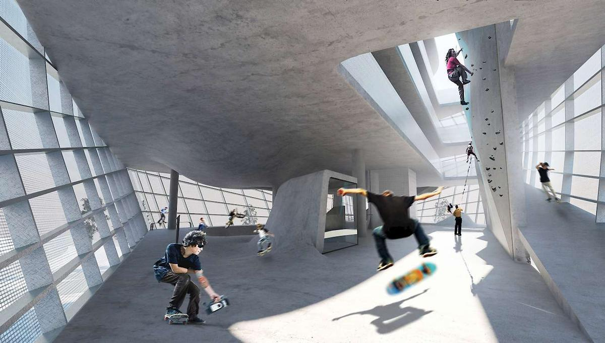 clad weekly roundup: world-class skateparks, the asian hotel